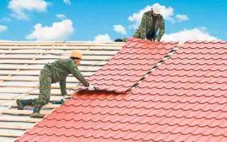 Что делать если течёт крыша