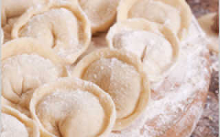 Как замесить тесто на пельмени