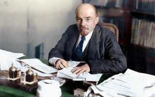 В каком городе родился и жил Ленин