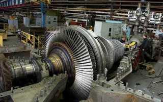 Как устроена паровая турбина