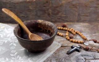 Сколько длится крещенский пост