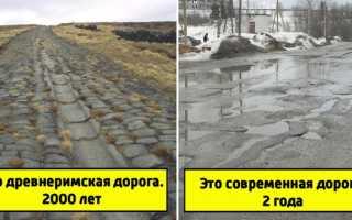 Как делали дороги в Древнем Риме