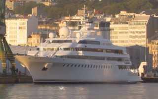 Какая самая дорогая яхта в мире