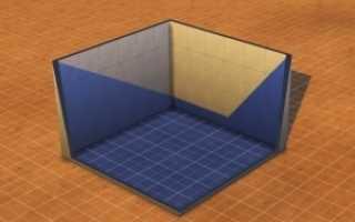 Как сделать фундамент в симс 4