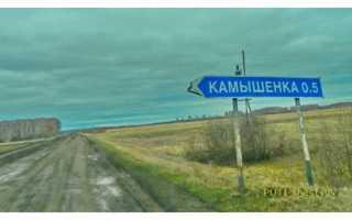 Где находится село камышенка