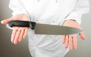 Можно ли выбрасывать старые ножи