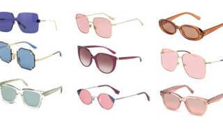 Какие сейчас модные очки от солнца