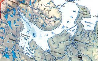Какой климат на Белом море