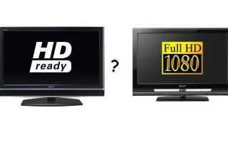 Чем отличается hd ready от full hd
