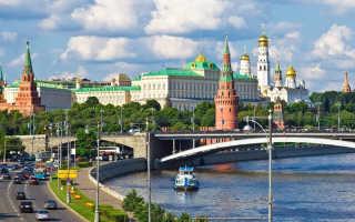 Куда поехать погулять в Москве
