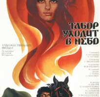 Табор уходит в небо фильм 1976