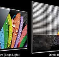 Что лучше direct led или edge led