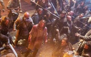 Постельная сцена из викингов