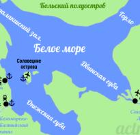 Где находится город Соловецк