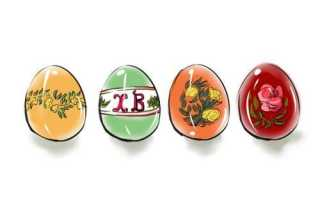 Как нарисовать пасхальное яйцо