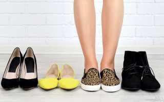 Красится обувь изнутри что делать