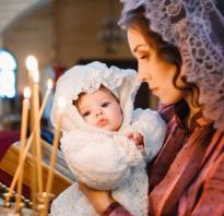 Что подарить на крестины девочке