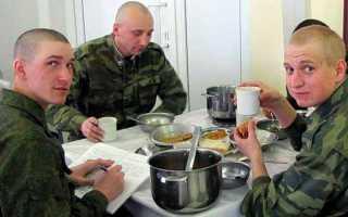 Как проходит первый день в армии