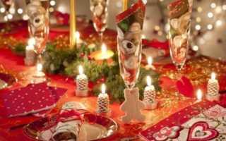 Что поставить на стол в новый год