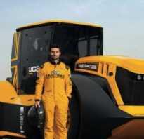 С какой скоростью едет трактор