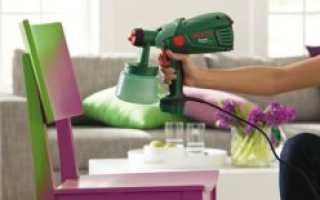 Сложно ли красить краскопультом