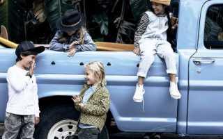 Какая одежда сейчас в моде для детей