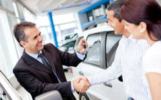 Как оформить покупку машины