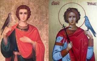 Святой трофим икона в чем помогает