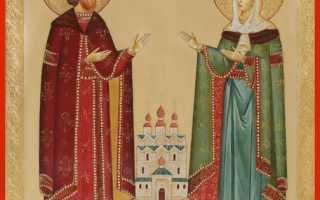 О чем молятся Петр и Феврония