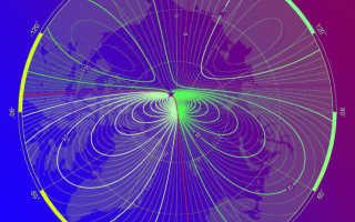 Где находятся магнитные полюса земли